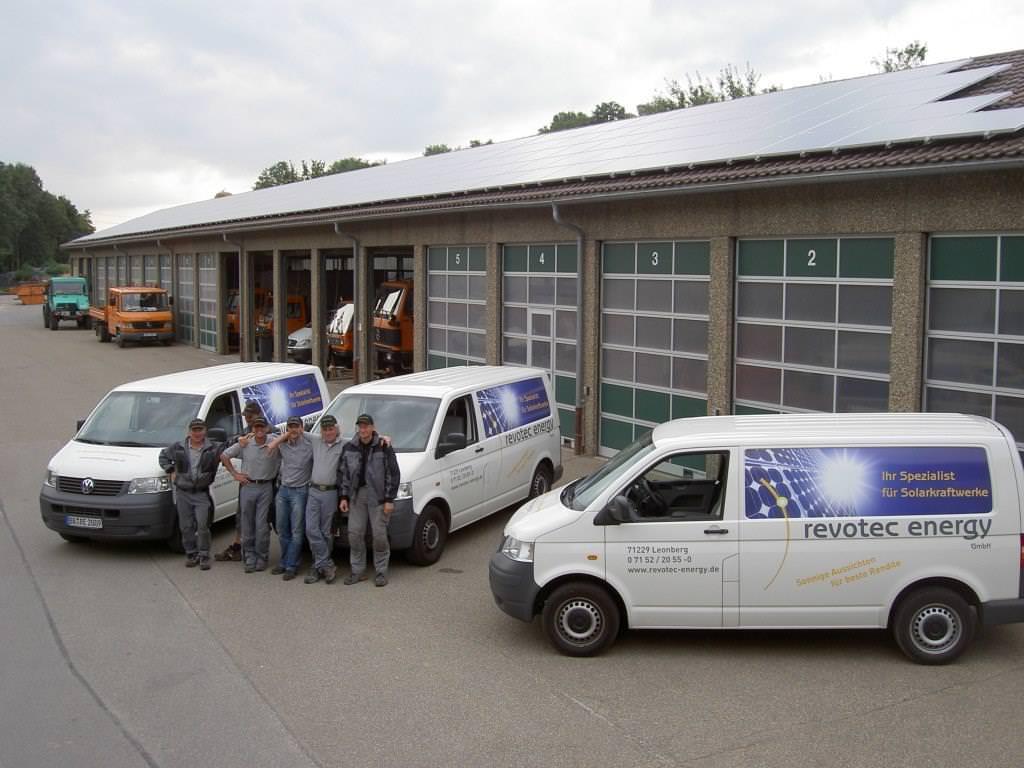 Solarstromanlage Bauhof Leonberg (2008)