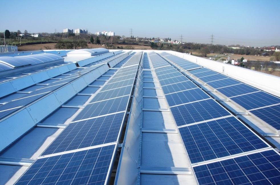 Photovoltaikanlage in Ludwigsburg (2015)