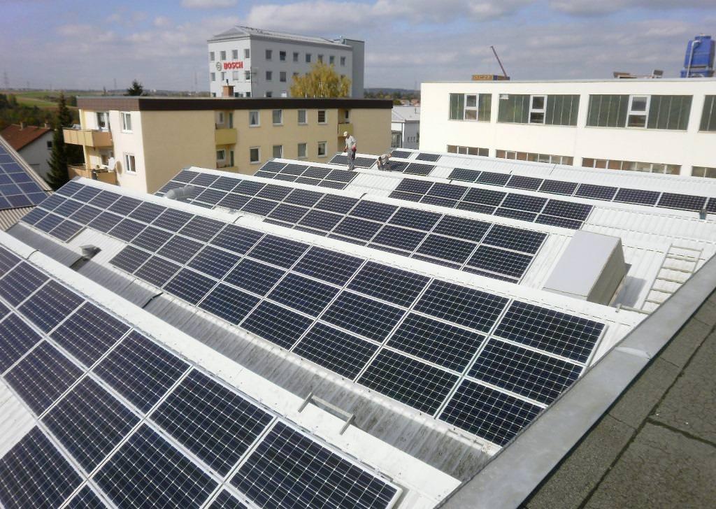 Solarstromanlage in Leonberg (2011)