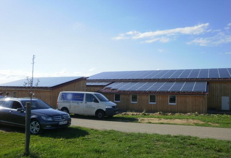 Solarstromanlage in Vaihingen/Enz (2012)